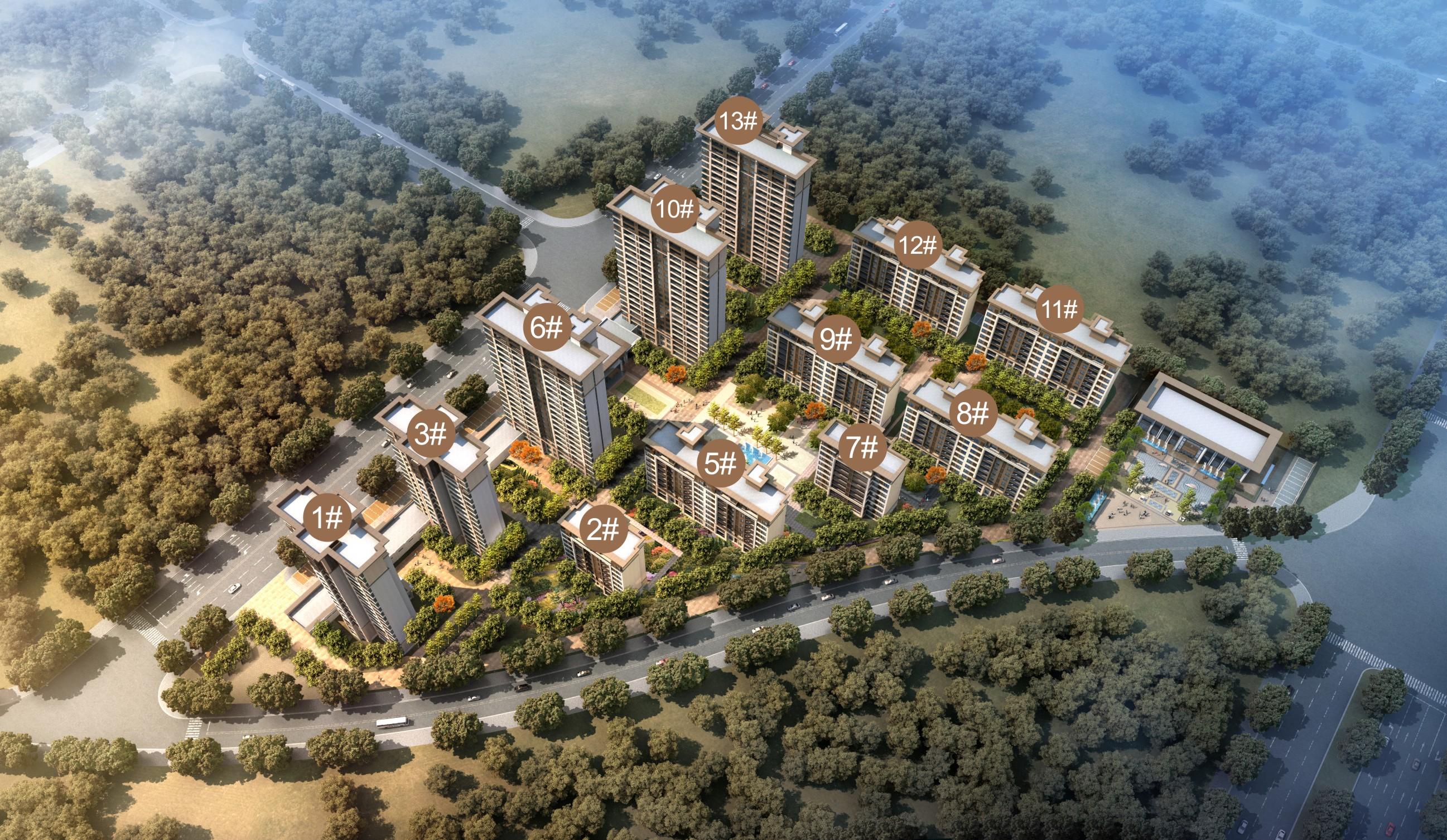 太康建業生態新城  十里蘭河新區  一座生態新城