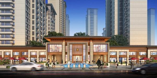 0522--建业阳滨河珑府--会客厅--透视-正面