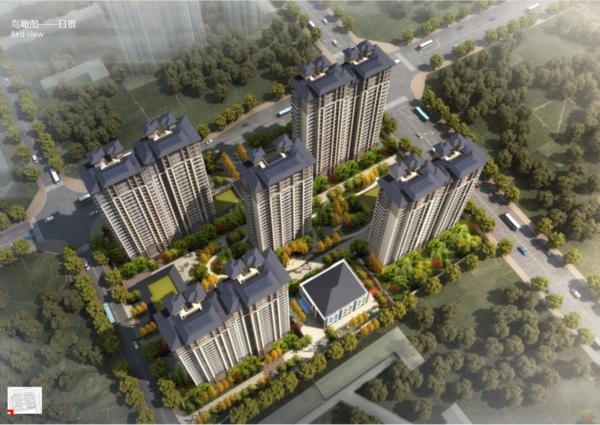 中州府項目鳥瞰日景
